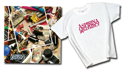 CD + T-shirt Aspirina Metafisica